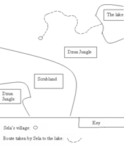 Sela's route