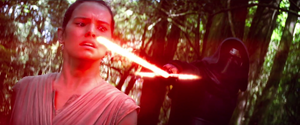 Kylo Ren captures Rey