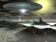 Aliens Ufo horizon