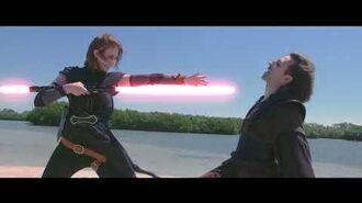Star Wars Fan Film The Last Hope - Kylo Ren vs Rey 2K