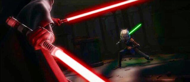 File:AhsokaBarriss-duel.jpg