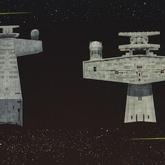 Concept art for a Star Destroyer bridge in <i>Rebels</i>.