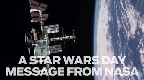 A Star Wars Day Message from NASA