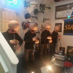 The cantina band. This is animatronic and actually plays music.