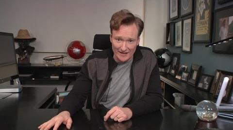 Conan O'Brien Takes a Comedic Look at Star Wars Episode VII Director Auditions