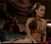 Slave Leia actress- Ashley Pittman