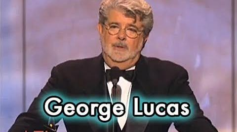 George Lucas Accepts the AFI Life Achievement Award in 2005