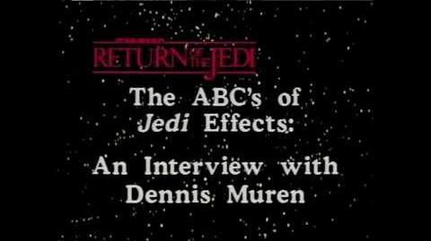 Dennis Muren Interview The Return of the Jedi Effects Challenge