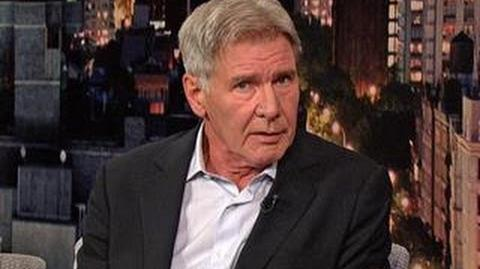 David Letterman - Is Harrison Ford a Grump and Will He Do Another Star Wars?