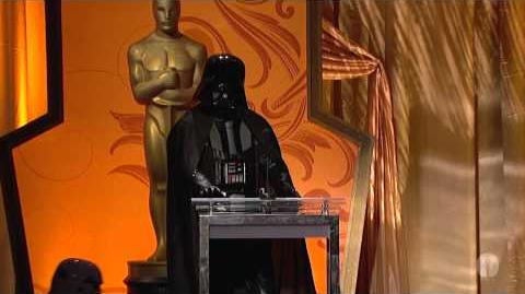 Darth Vader Crashes Academy's Governors Awards