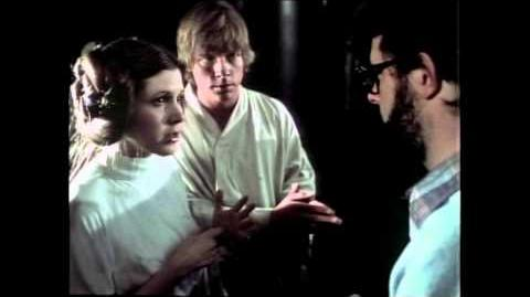 George Lucas Interview Carrie Fisher
