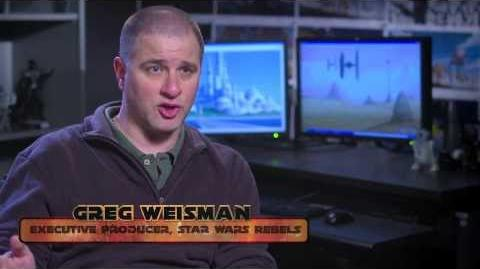 Star Wars Rebels Meet Greg Weisman, Executive Producer