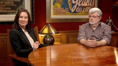 Part 2 George Lucas and Kathleen Kennedy Getting Started on the New Star Wars Films