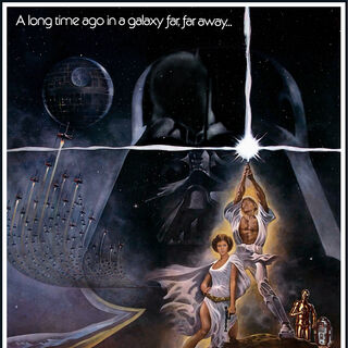 <i>Star Wars</i> theatrical poster