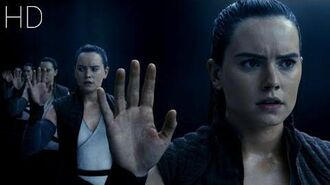 Star Wars The Last Jedi Clip (Rey in cave)