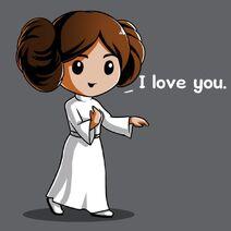 Princess Leia Cartoon