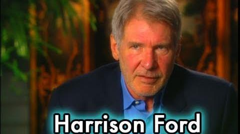 Harrison Ford on Shooting Star Wars