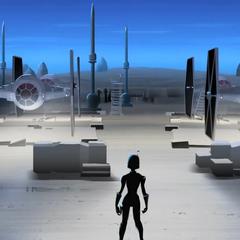Armored Sabine concept art