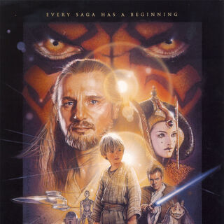 The Phantom Menace theatrical poster