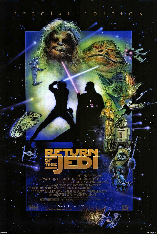 Star wars: episode vi return of the jedi special edition.