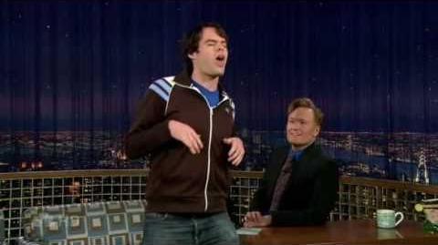 Conan Bill Hader's tauntaun impression