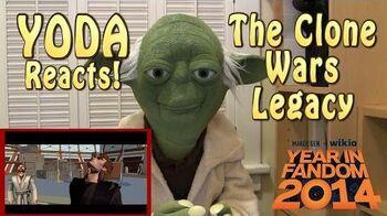 Yoda Reacts - Star Wars The Clone Wars Legacy