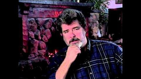 George Lucas Interview Original Concepts for Star Wars