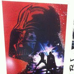 <i>Revenge of the Jedi</i> poster.