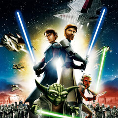 <i>The Clone Wars</i> film poster