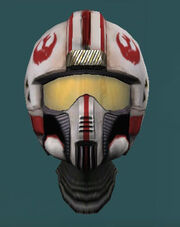Rebel Ace Fighter Helmet