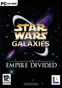 Star Wars Galaxies - An Empire Divided cover art