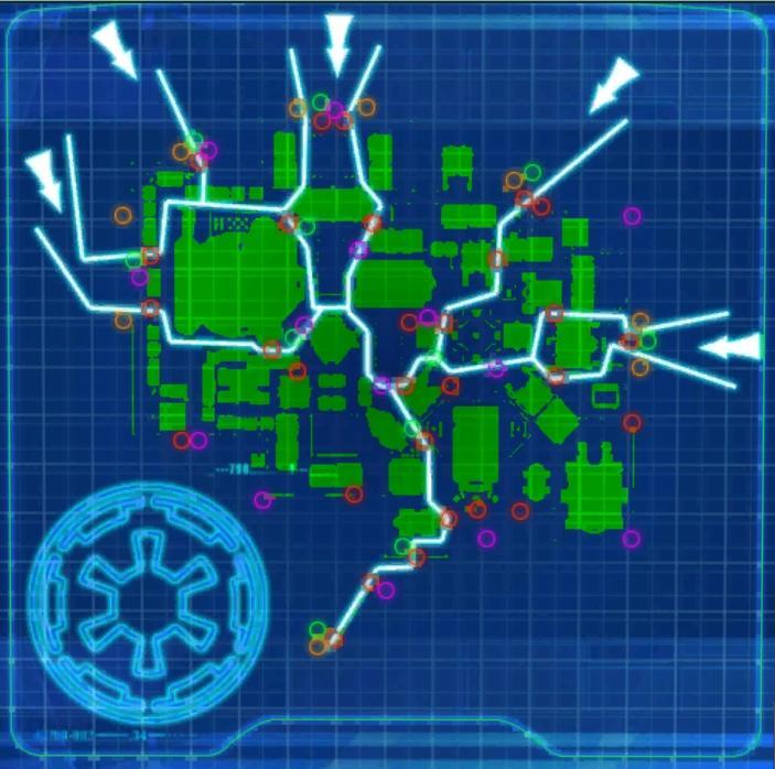 Dearic Invasion Paths