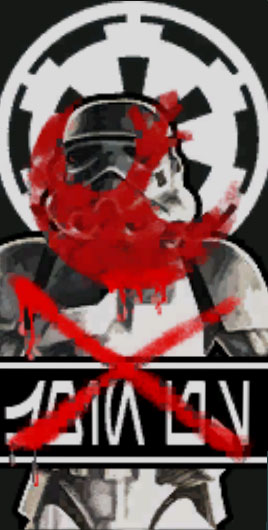 Defaced Imperial Recruitment Poster Swg Wiki Fandom Powered By Wikia