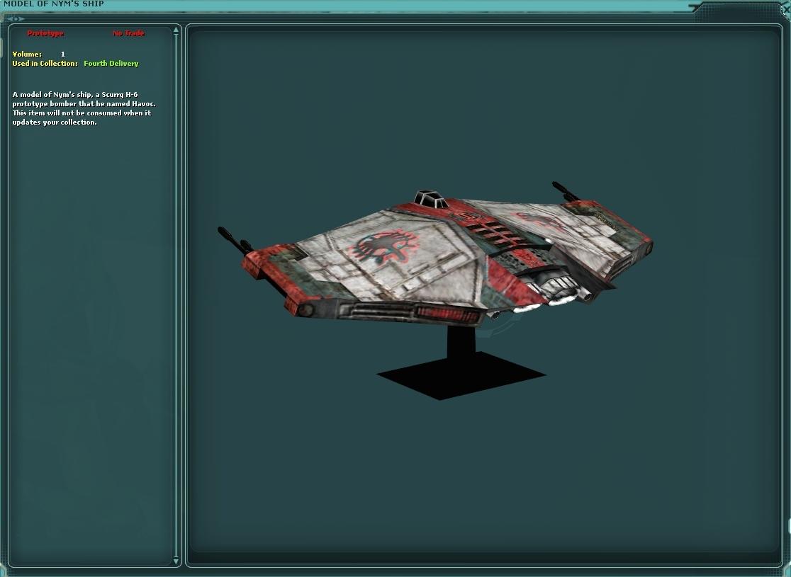 Model Of Nyms Ship Swg Wiki Fandom Powered By Wikia