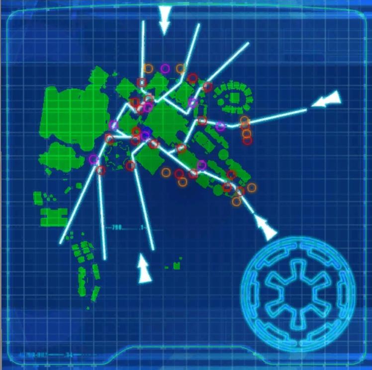 Bestine Invasion Paths