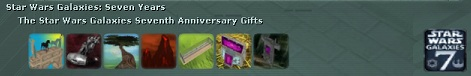 The Star Wars Galaxies Seventh Anniversary Collection