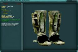 Rebel Assault Forest Camouflage Armor Boots
