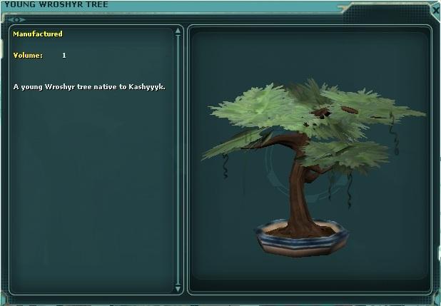 Young Wroshyr Tree