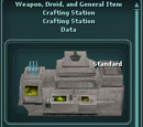 Weapon, Droid, and General Item Crafting Station