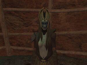 A Nightsister Rancor Tamer