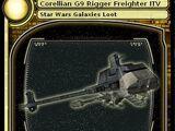 Corellian G9 Rigger Freighter ITV