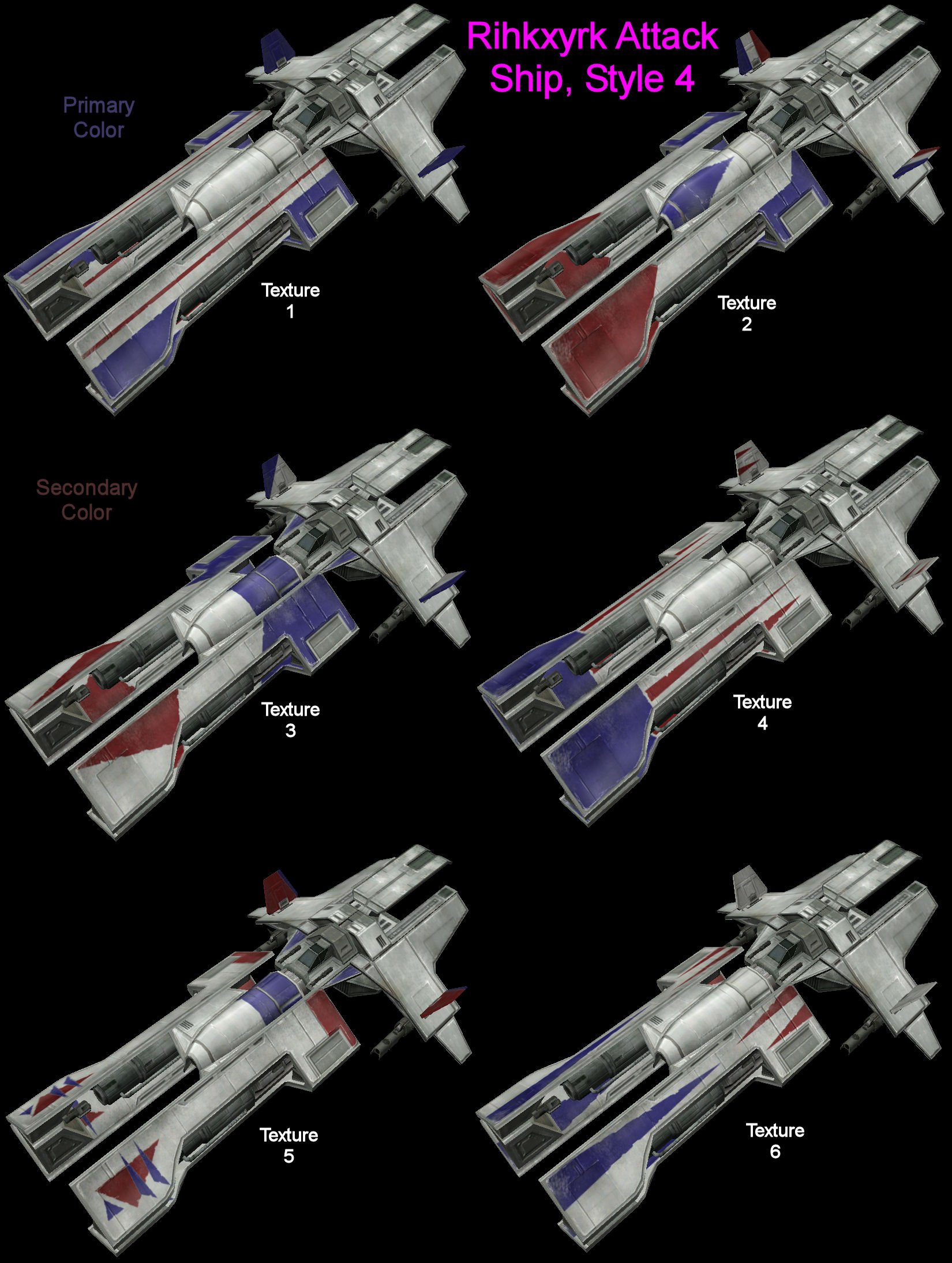 Rihkxyrk Attack Ship Chassis Blueprints Style 4 Swg Wiki Fandom