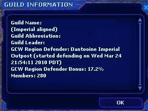 Guild Information
