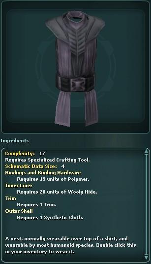 Decorative Vest