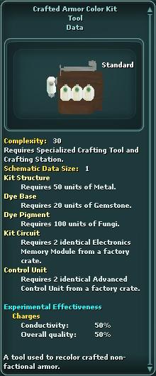 CraftedArmorColorKit