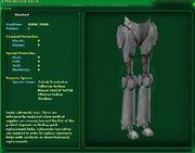 Cloning cyber legs