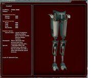 Burstrun cyber legs