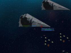 Firing Star Destroyers EaW