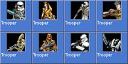 Trooper icons