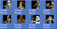 TrooperRecruit icons